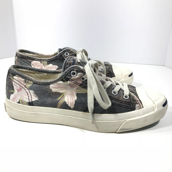 1e84add4bd5a7a Converse Shoes - Converse Jack Purcell Low Top Sneaker Floral Print